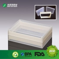 recyclable transparent material empty bulk china plastic box