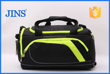 2015 new designed travel bag, duffle traveling bag, travel bags with shoes bag compartment