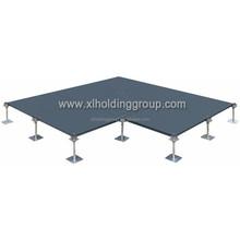 Antistic Raised Access Floor, antistatic flooring PVC /HPL tiles