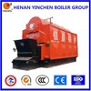 Water and fire tube central heating boilers or water heating pellet stoves