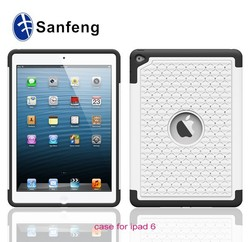 factory sell mobile phone case for iPad air 2, combo armor case for iPad air 2