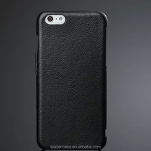 2015 fashion customs genuine leather cheap flip mobile phone case for iphone 6
