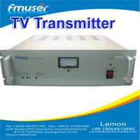 Low price and Low RF Power 100W analog TV Transmitter digisenders A3
