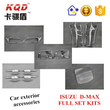 Golden supplier silver Full chrome kits for ISUZUD-MAX 2012 - ON parts hot selling chrome auto accessories