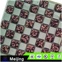 Latest mosaic tile for wall for meeting room decoration blackground bar counter