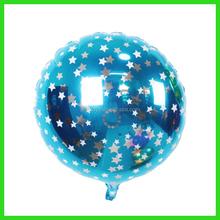 promotional foil blue color ballon
