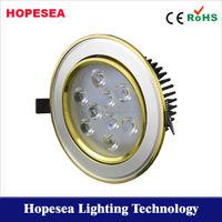 Adjustable 3w/5w/7w/9w/12w led downlight saa approved 3 years warranty.high brightness 9w crystal led downlight