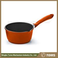 China Manufacturer Die Cast Aluminium white ceramic sauce pan
