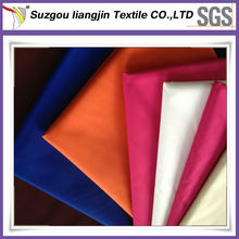 Cheap Polyester Pongee Waterproof Fabric/Recycled Waterproof Fabric
