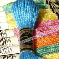 Cotton sewing threads cross stitch threads embroidery yarns