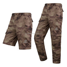 Men's Breathable Quick Drying Two-Sections Pants Travel Hiking Trousers AU Color