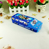Kids gift cartoon printed tin box for pencil