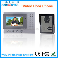 Wired intercom door phone opening system