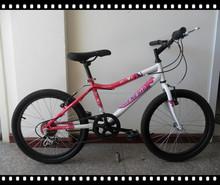 "20""pink girl bike/20"" 6 sp bike"