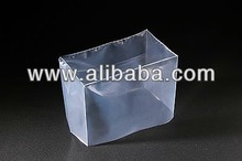 Various types of LDPE plastic square bottom bag made in Japan