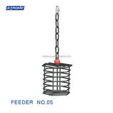 Feeder No.05 (Round Walnut Basket)