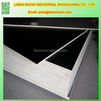 18mm 21mm shuttering film faced plywood Plates , hardwood black plywood, 18mm plywood panel