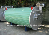 double coils thermal oil heater, industrial heater, heat transfer oil boiler