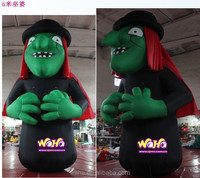 Newest inflatable halloween decoration /inflatable halloween witch