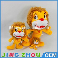 new products valentine plush lion toys,plush lion