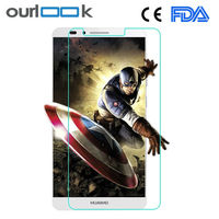 Mobile anti glare screen guard screen protector film with retail packaging