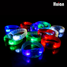 2015 New Style bracelet led for Party Favor ,new products alibaba china Colorful flashing bracelet for Party Favor