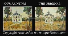 Handmade famous landscape paintings art on canvas