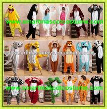 venta al por mayor de los animales blandos pijama bodies las mujeres pijamas para mujeres