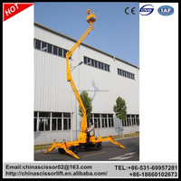 Articulated boom lift, pickup truck boom lift, Towable boom lift for sale