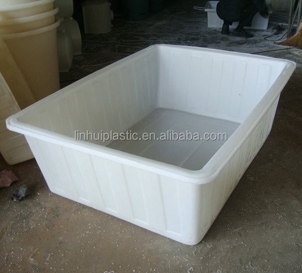 Large Food Grade Pe Material Plastic Tank Rectangular Container For Aquaponics   Buy Food Grade