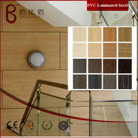 low light pvc laminated panel for interior wall