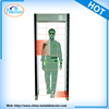 Public security equipment. security door frame walk through metal detector and x ray luggage baggage screening scanner machine