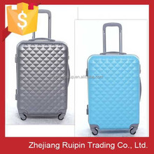spinner caster and ABS material kids trolley suitcase