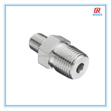 Nantong Roke stainless steel 1/8'' NPT thread forged reducing hex nipple