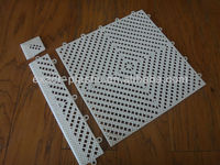 Interlocking PVC tile, wet area mat, shower tile