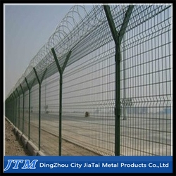 2015 Hot sale!!!Airport welded wire mesh fence