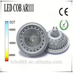 Hot sale silver led light bulb ar111 garden spot lights