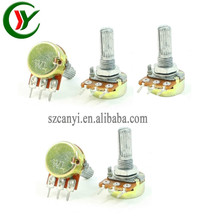 (Canyi Supplier) High Precision Potentiometer TOP Adjustment 10K OHM linear rotary Potentiometer