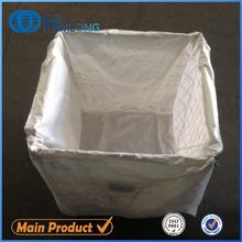 Stackable plastic bottles storage mesh pallet