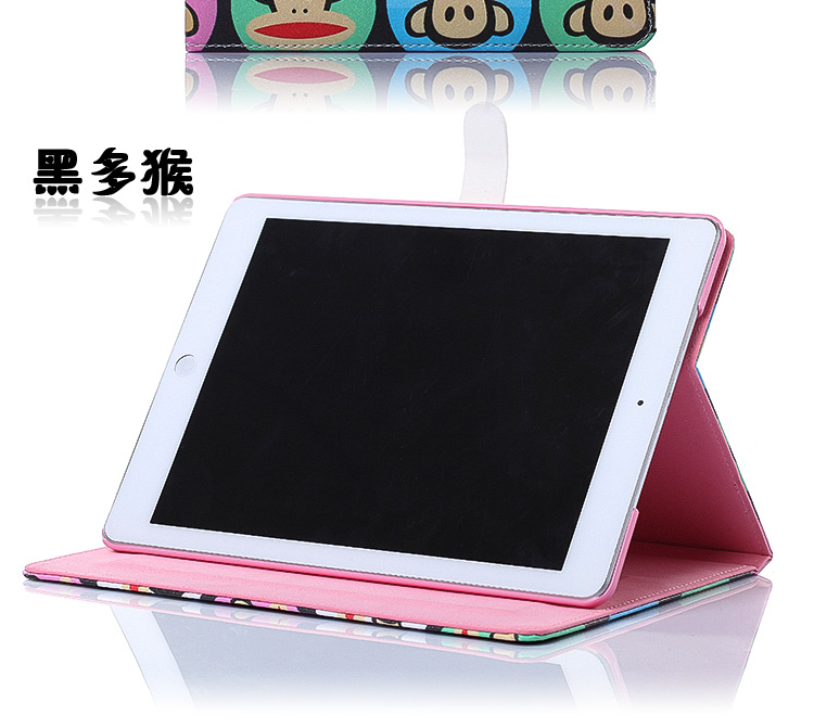 Cute Girl PU Leather Stand Smart Cover Case for iPad 2 3 4 5 Air Mini