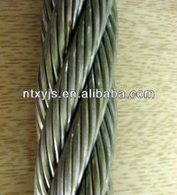 stainless steel wire rope 7x7 4mm