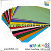 Colorful synthetic felt factory