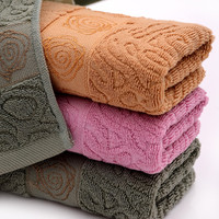 Cotton ice cream jacquard yarn dyed lovely towel set