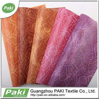 stock snake skin pu synthetic leather