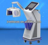 Jointlaser produced electric hair follicle stimulator