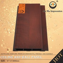 Manufacturer Wood Plastic Composite WPC Wall Decor Panels 3D Board / Panel