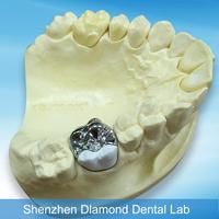 Dental Casting Materials Complete Metal Co-Cr Alloy Dental Crown