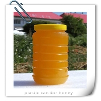 food safe round plastic clear paint cans for crafts