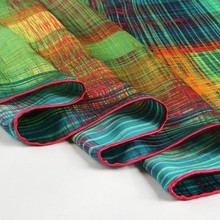 JANUARY KOMA brand name scarf shawls and scarves screen printing silk scarf