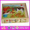 Hot game 3d building wooden puzzle / 3d children puzzle WJ278170